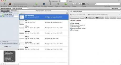 Test de Evernote – Le bloc-note dans le cloud