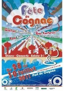 Billetterie en ligne de la fête du Cognac 2011