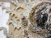 sculptures papier recyclé Nava Lubelski