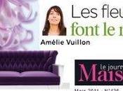 toiles murales d'Amélie Vuillon l'honneur!