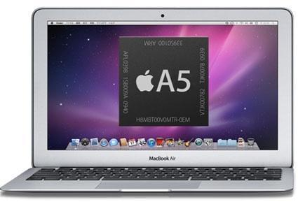 Mac Book Air équipé A5 en approche ?