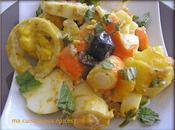 pommes terre surimi mayonnaise maison