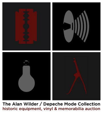 Alan Wilder / Depeche mode Collection Auction