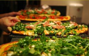 Green Pizz, les pizzas avec de vrais ingrédients dedans !