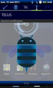 Android 3.0 sur Nexus S, ou tout autre téléphone Android