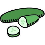 Mot du jour : concombre.