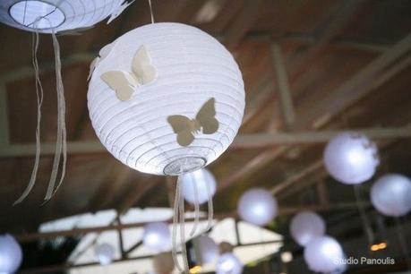 Deco de mariage theme papillons