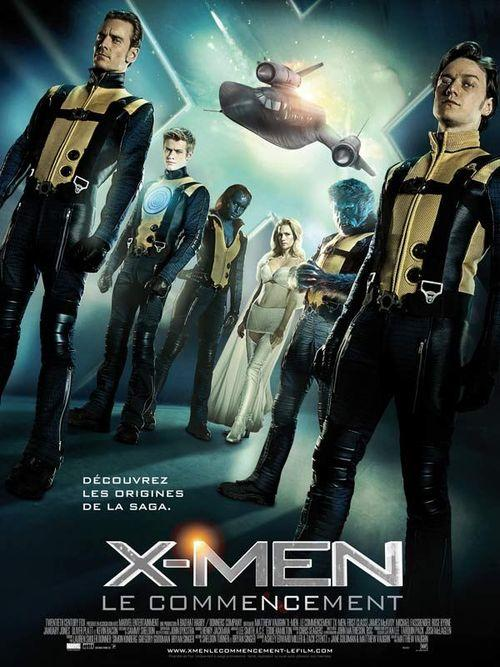 X-men le commencement matthew vaughn james mcavoy michael fassbender