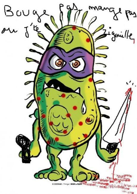 Un monde de plus en plus dangereux (comme la bactérie)