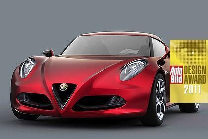 alfa romeo,4c,concept car,prix,design