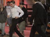 Robert Pattinson tomber tournage Cosmopolis