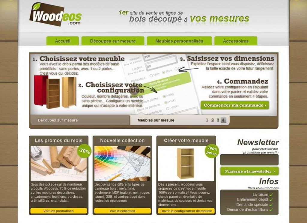 Woodeos Vous Aide  Concevoir Votre Meuble SurMesure   Voir