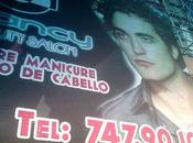 Billboard with Robert Pattinson Mexico