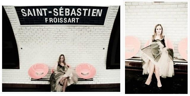 Shooting #1 / Part 1 : Ballerina in the city !