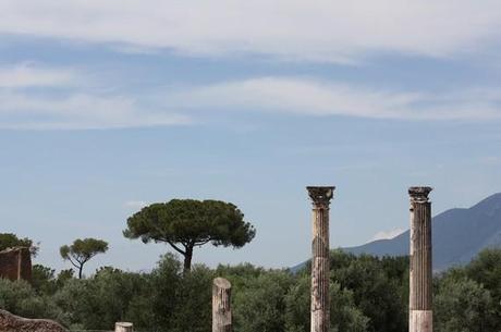 Quelques colonnes vers le ciel