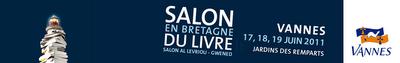 Salon du livre en Bretagne (Vannes).