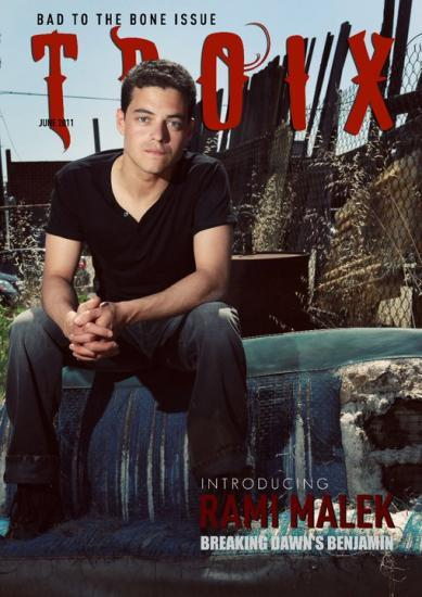 Rami Malek nous fait un shooting très Rock and Roll