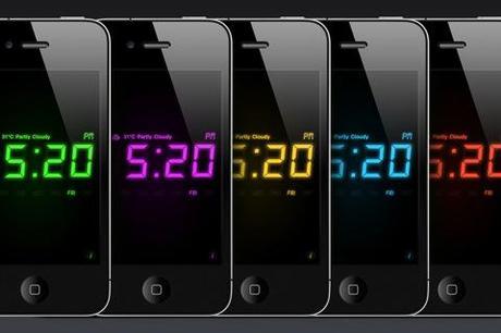 Night Stand HD, horloge et météo sur iPhone/iPad...