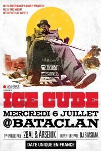 Ice Cube au Bataclan