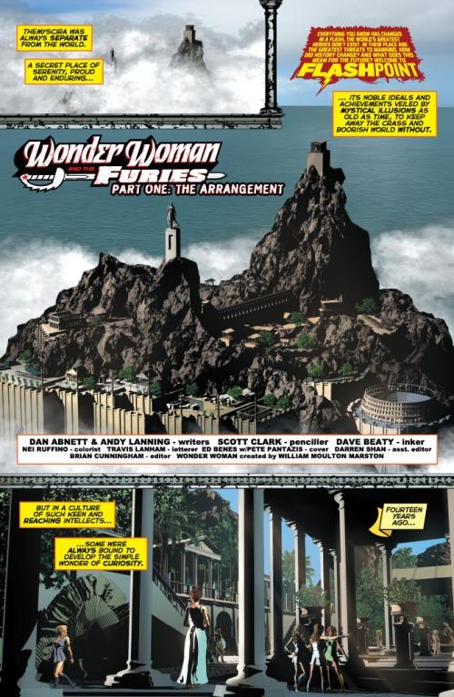Wonder Woman & The Females Furies #1 la preview