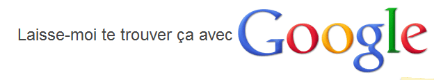 Let Me google That for You permet d'inciter voss amis à utiliser Google
