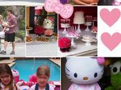 fête d'anniversaire Hello Kitty pour fille Tori Spelling