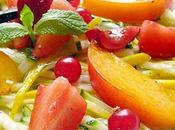 Minestrone Deux Courgettes Fruits Saison