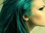 piscine cheveux verts