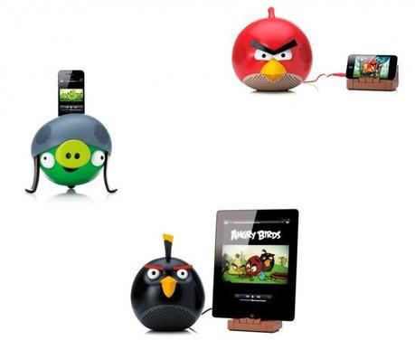 Gear4 : des haut-parleurs à l'effigie d'Angry Birds destinés aux iPhone / iPad