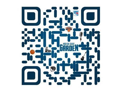 Le QR code du Madison Square garden