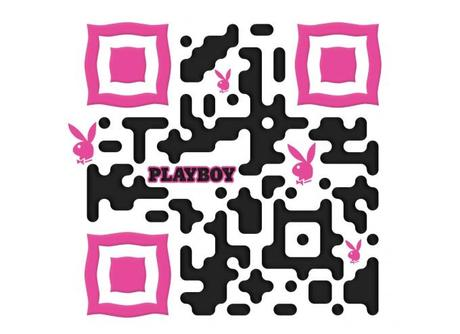 Playboy code QR