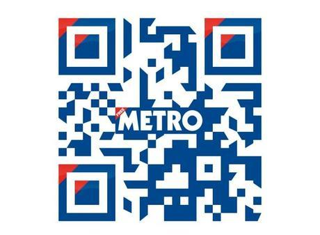 Metro code qr