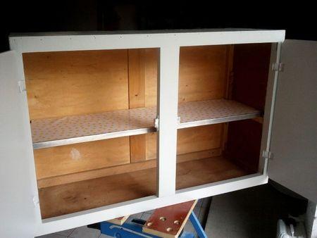 comment relooker un meuble de cuisine suite et fin voir. Black Bedroom Furniture Sets. Home Design Ideas