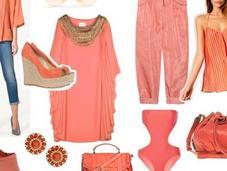 Sélection shopping: couleur corail