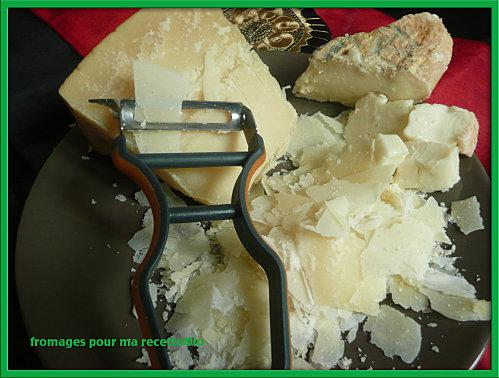 fromages pour ma recette
