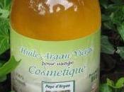 Massage l'huile d'argan