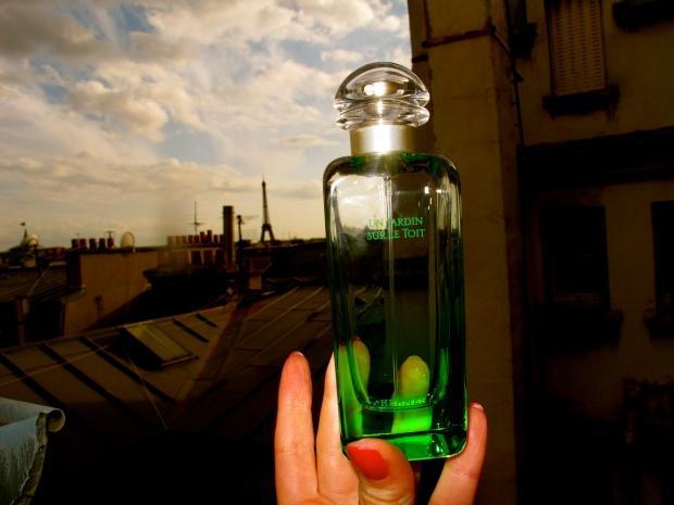 Mon Nouveau Parfum Hermès Un Jardin Sur Le Toit à Lire