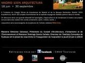 Exposition MADRID 100% ARQUITECTURA CMAV Toulouse