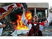 Canada: Emeutes après match hockey Vancouver