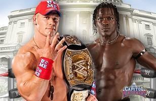 John Cena conserve son titre face à R-Truth lors de Capitol Punishment 2011