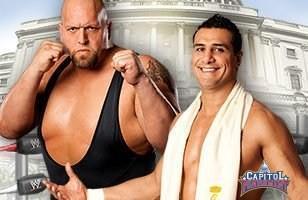Big Show donne une leçon à Alberto Del Rio lors de Capitol Punishment 2011