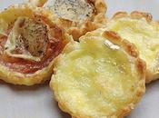 Tartelettes tomate/chèvre fromages