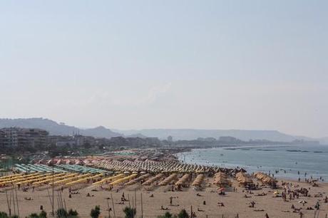 Pescara et son bord de mer...coloré!
