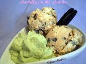 Glace Dulce Leche pépites chocolat, chantilly Matcha