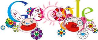 Premier jour de l'été 2011: Takashi Murakami et son doodle