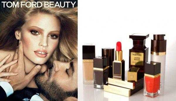 Lara Stone, l'égérie haute en couleurs de Tom Ford Beauty