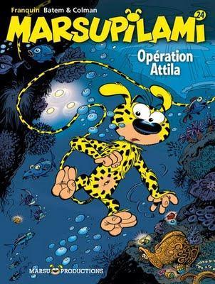 BD: Marsupilami 24 - Opération Attila