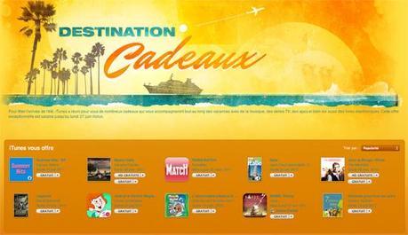 iTunes Destination Cadeaux : des applis iOS, de la musique et des vidéos à télécharger gratuitement !