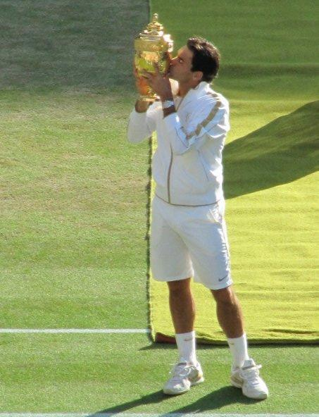 Interview de Roger Federer avant le début du Tournoi de Wimbledon