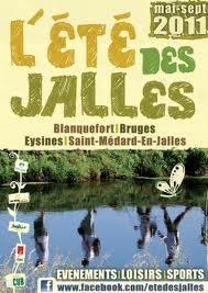 Programme Estival : St Médard, Bruges, Blanquefort et Eysines
